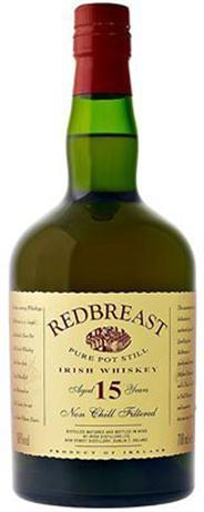 Redbreast Irish Whiskey 15 Year Old